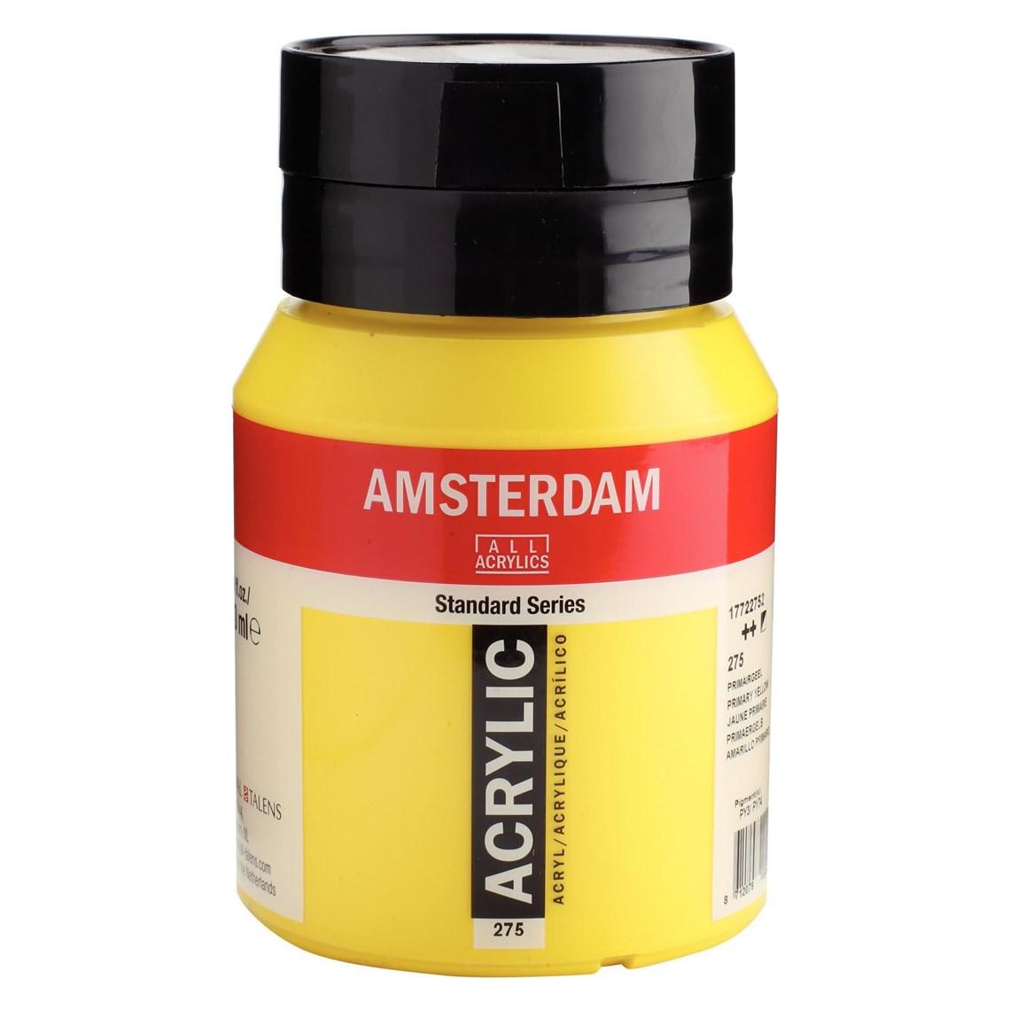 Amsterdam acrylverf Primairgeel 275 Angelart Kunst en zo