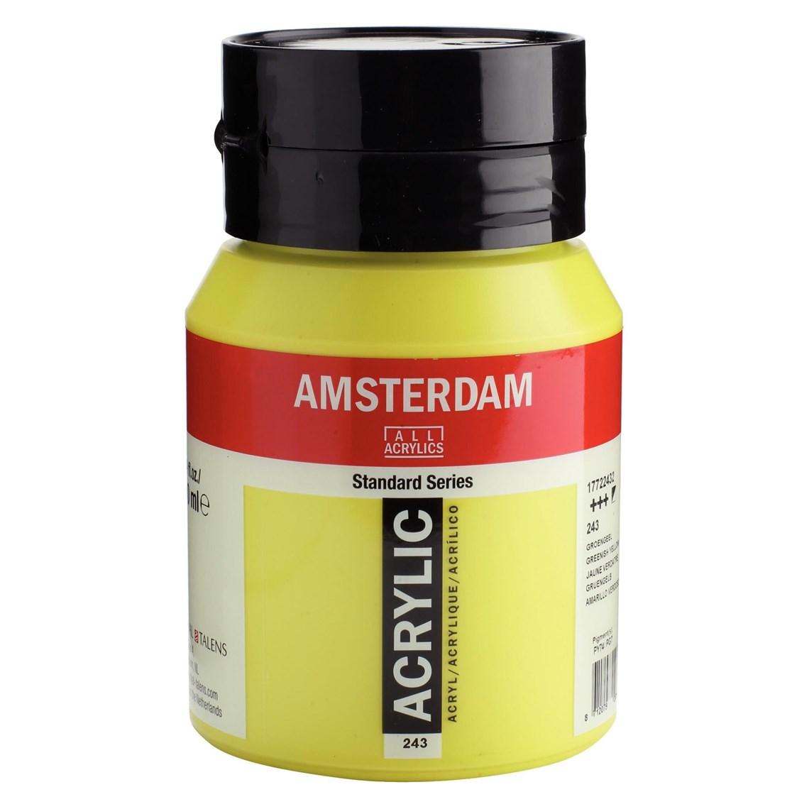 Amsterdam acrylverf Groengeel 243 Angelart Kunst en zo
