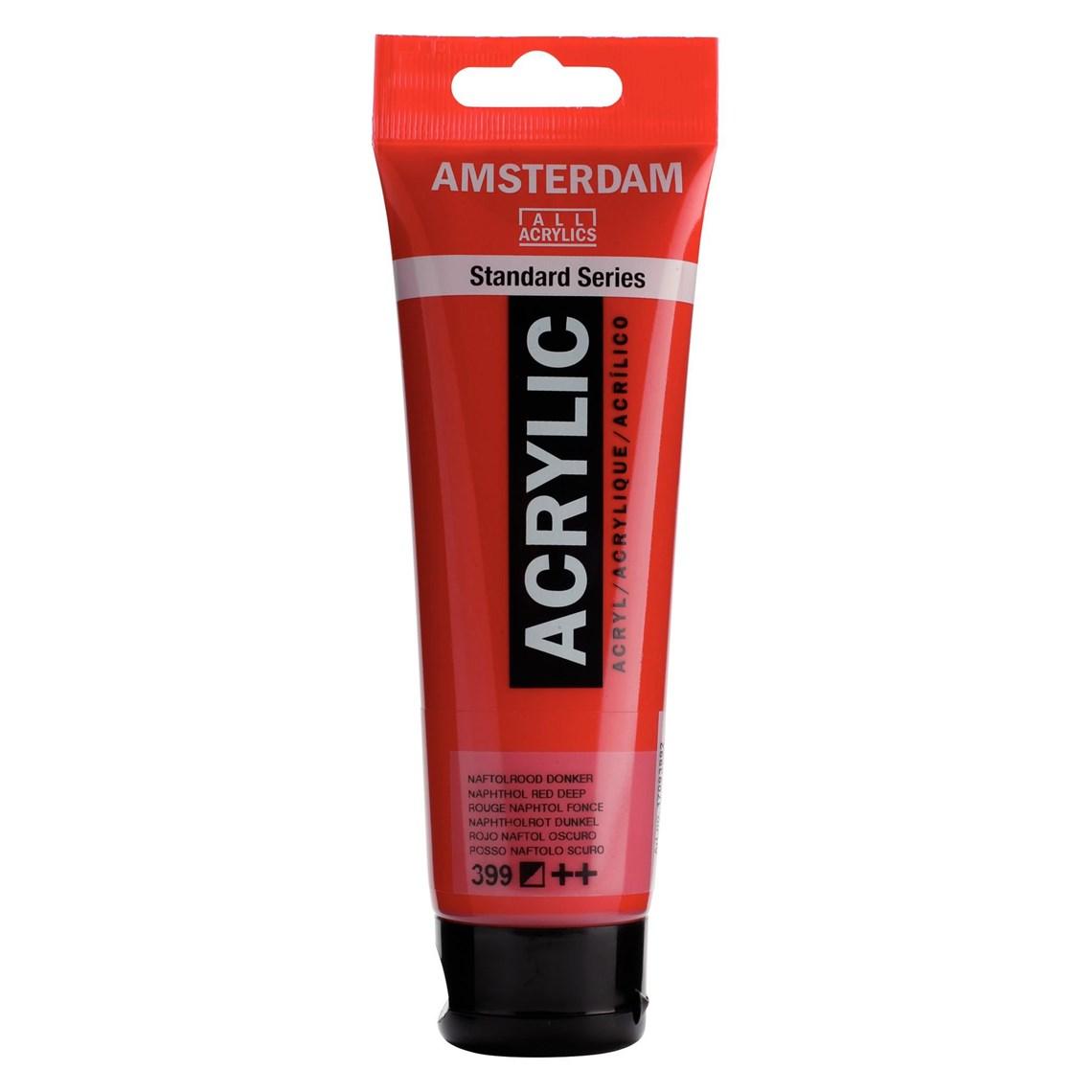 Amsterdam acrylverf Naftolrood donker 399 Angelart Kunst en zo