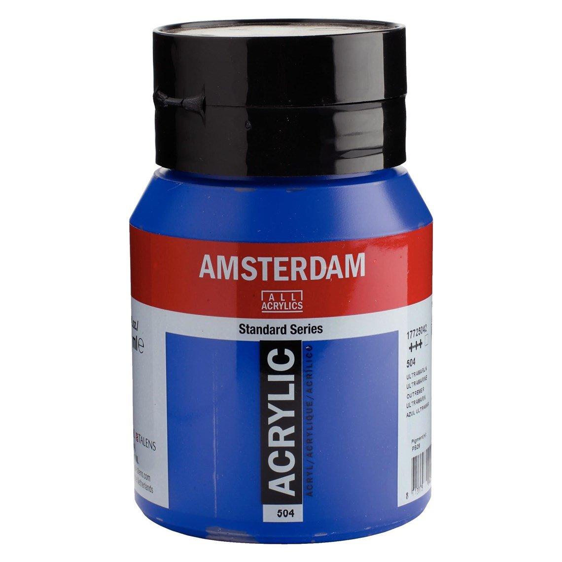 Amsterdam acrylverf Ultramarijn 504