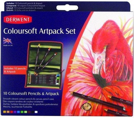 Derwent Coloursoft Art Pack set.