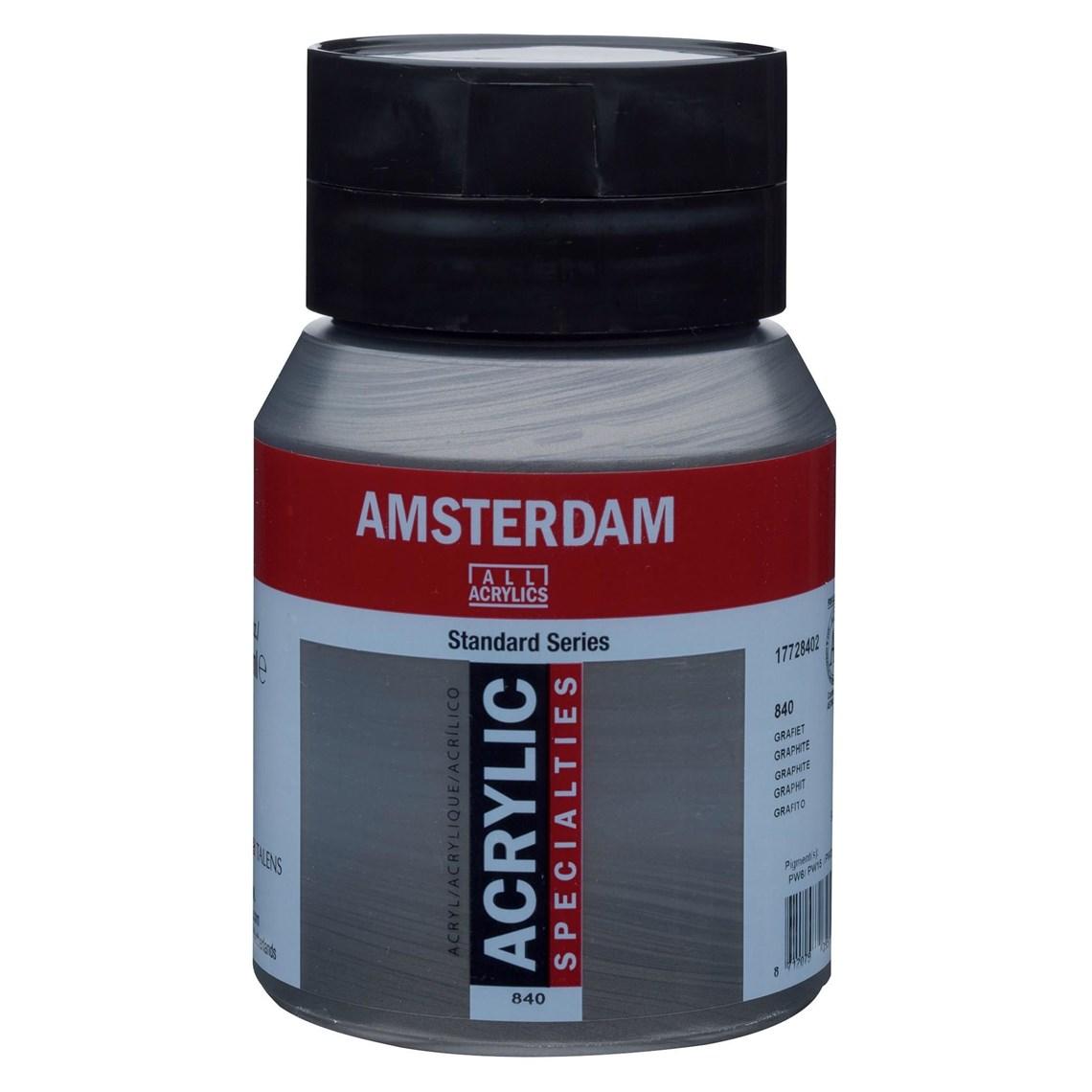 Amsterdam Acrylverf Grafiet 840