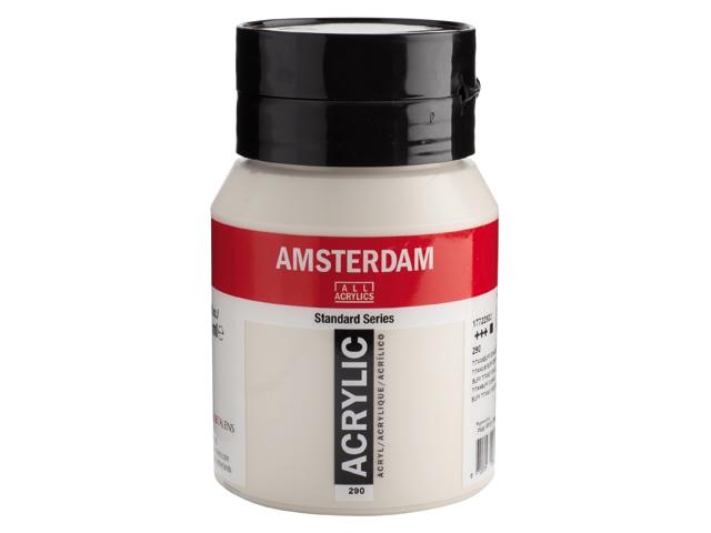 Amsterdam acrylverf Titaanbuff donker 290 Standard Series