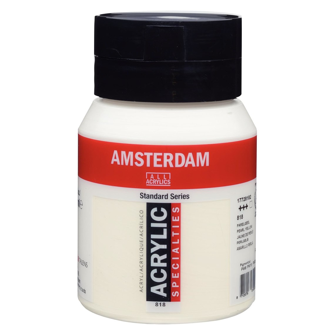 Amsterdam Acrylverf Parelgeel 818 specialties Angelart Kunst en zo
