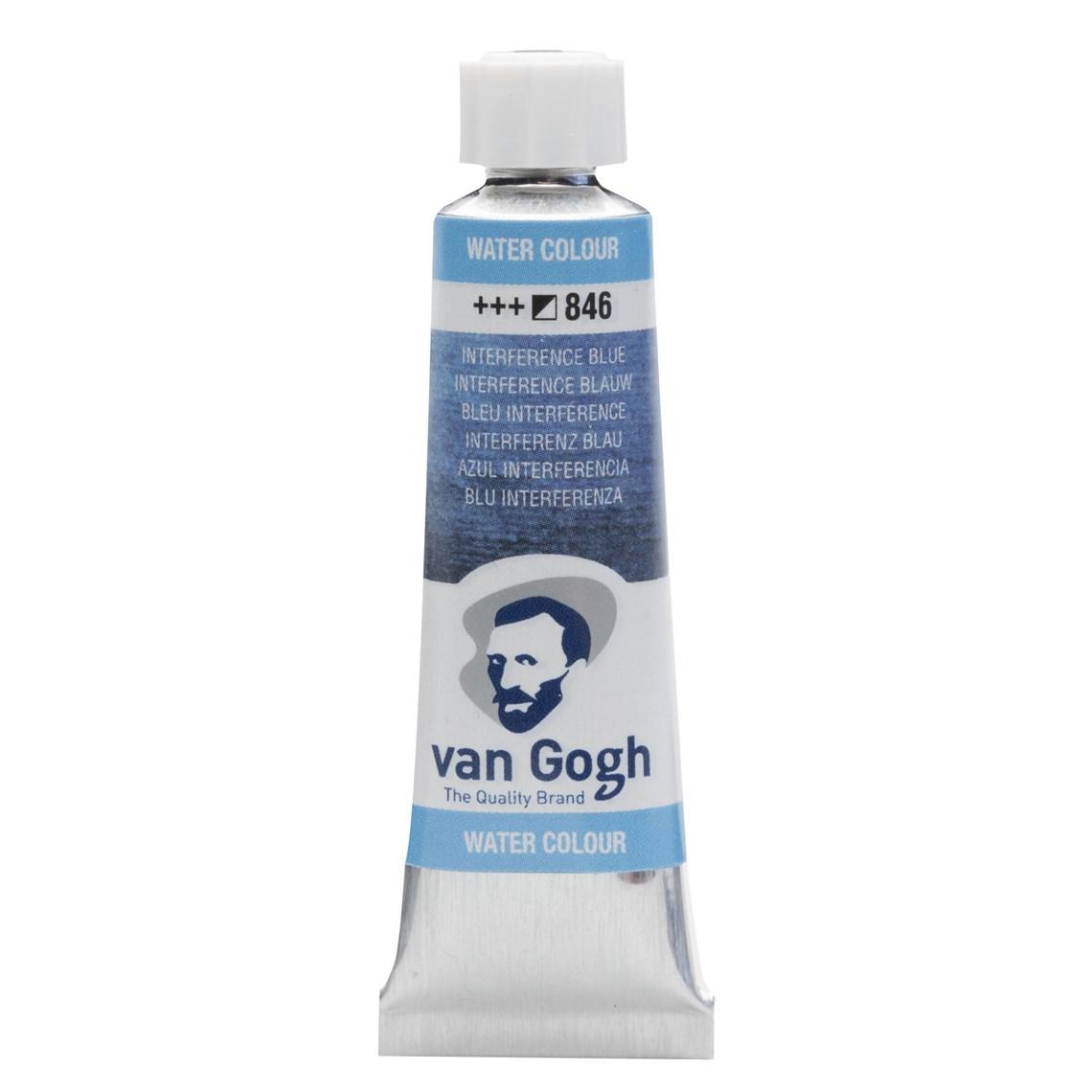 Aquarelverf Interfence blauw 846 tube 10 ml. Van Gogh