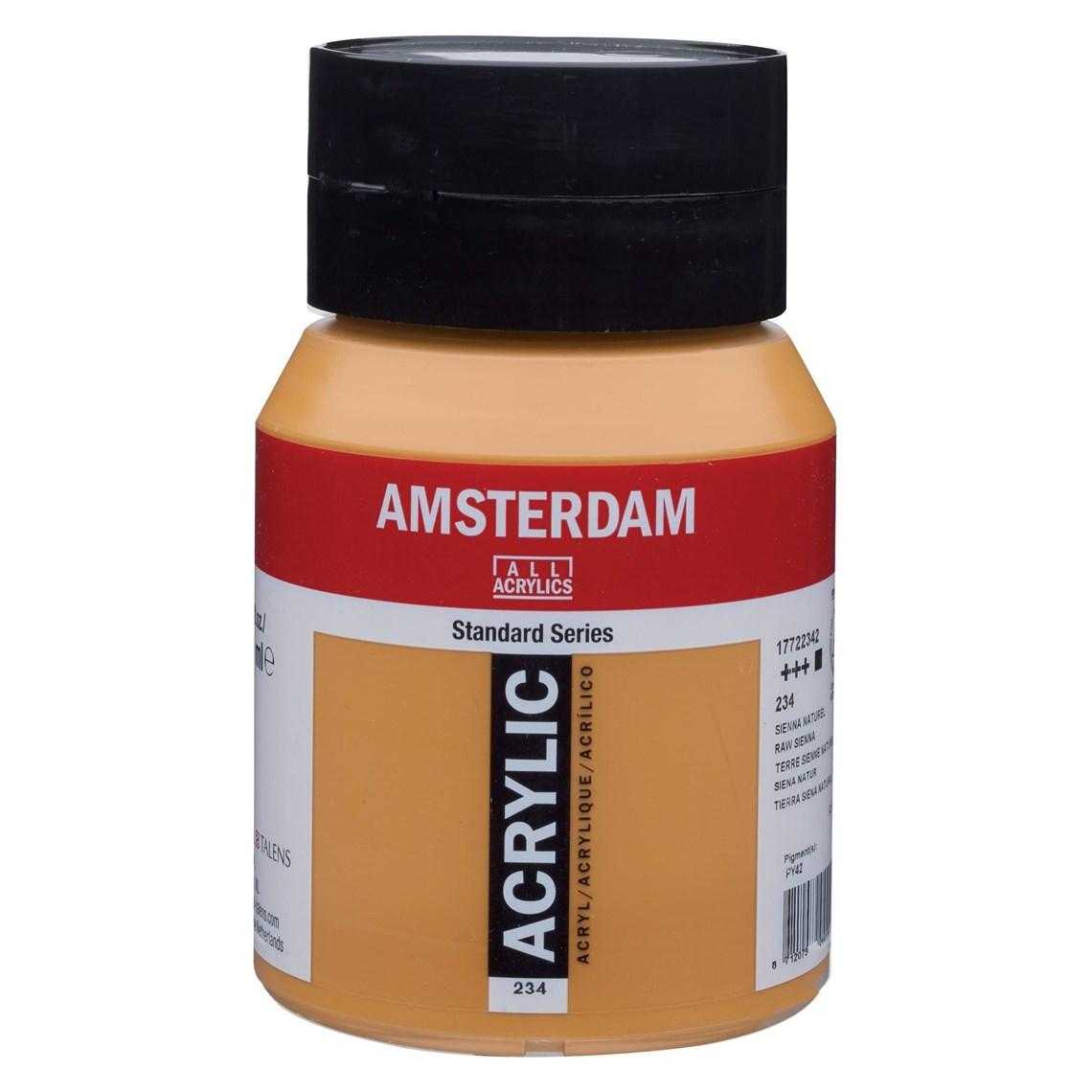 Amsterdam acrylverf Sienna naturel 234