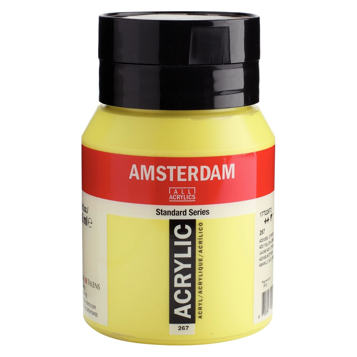 Amsterdam acrylverf Azogeel citroen 267 Angelart Kunst en zo