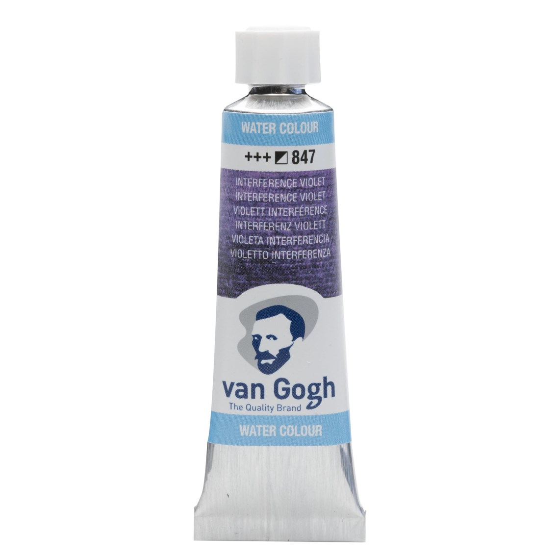 Aquarelverf Interfence violet 847 tube 10 ml. Van Gogh