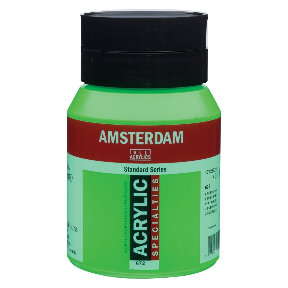 Amsterdam Acryl Reflexgroen 672 specialties Angelart Kunst en zo