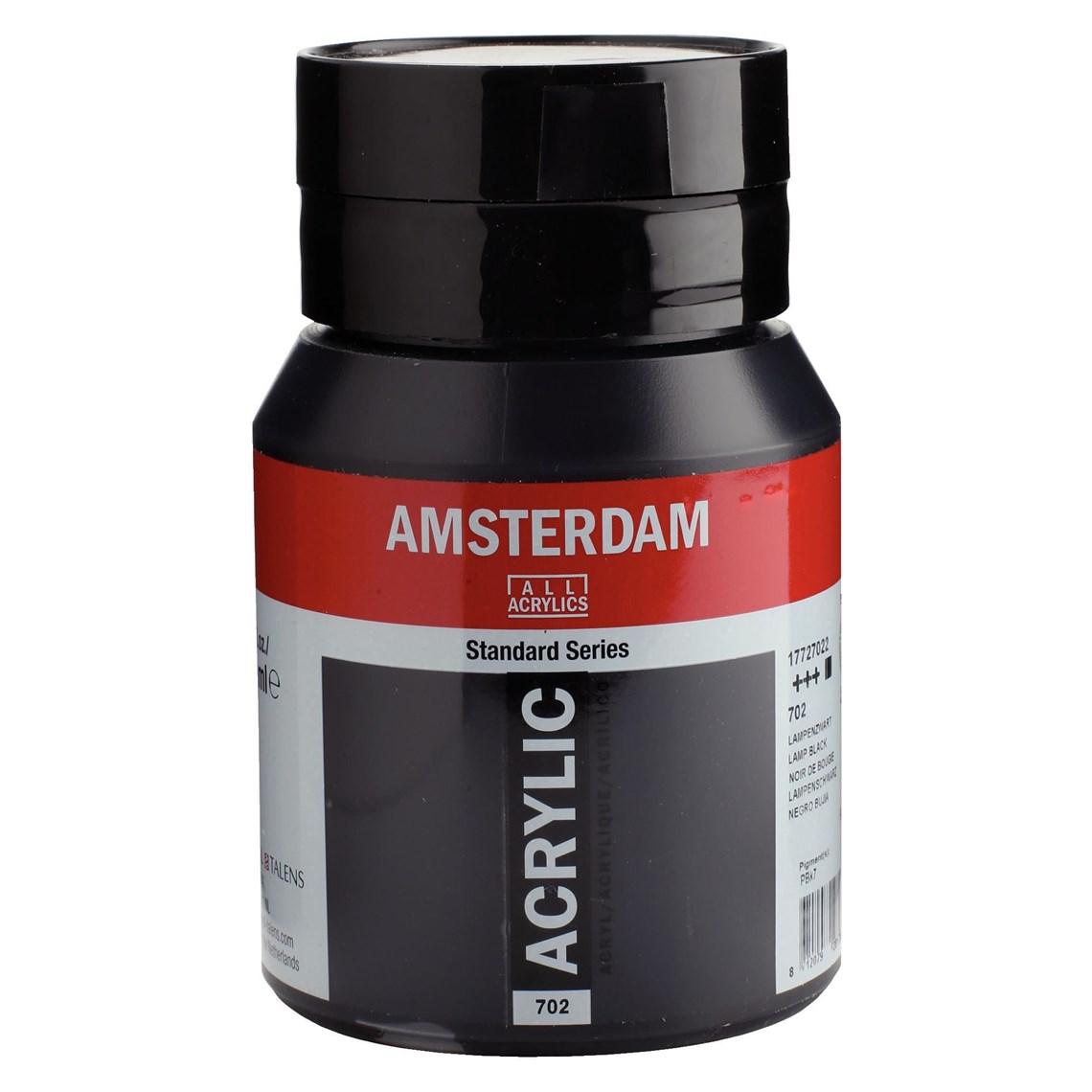Amsterdam Acrylverf Lampenzwart 702 Angelart Kunst en zo