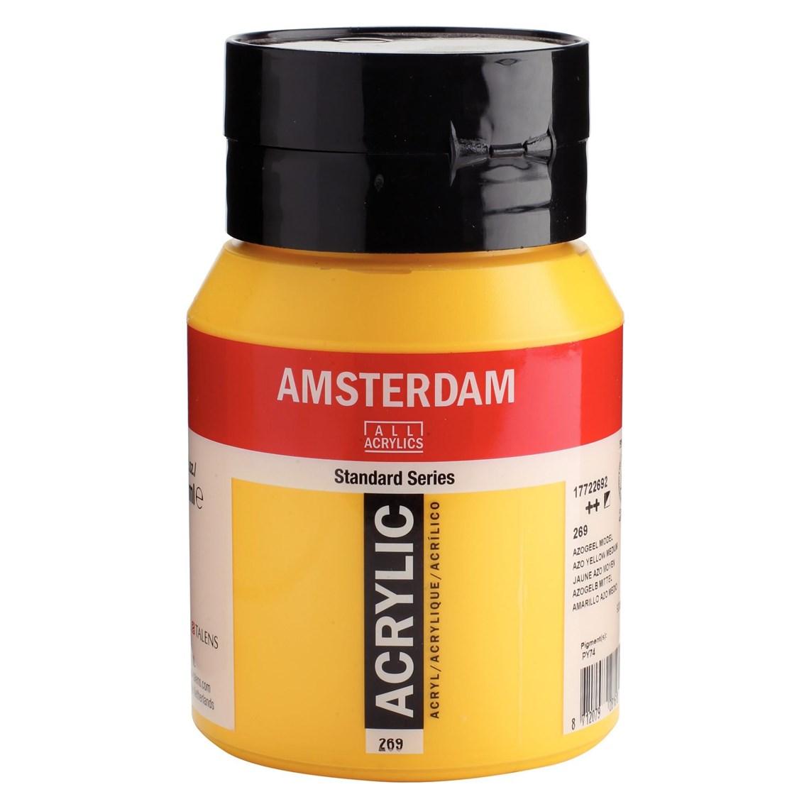Amsterdam acrylverf Azogeel middel 269