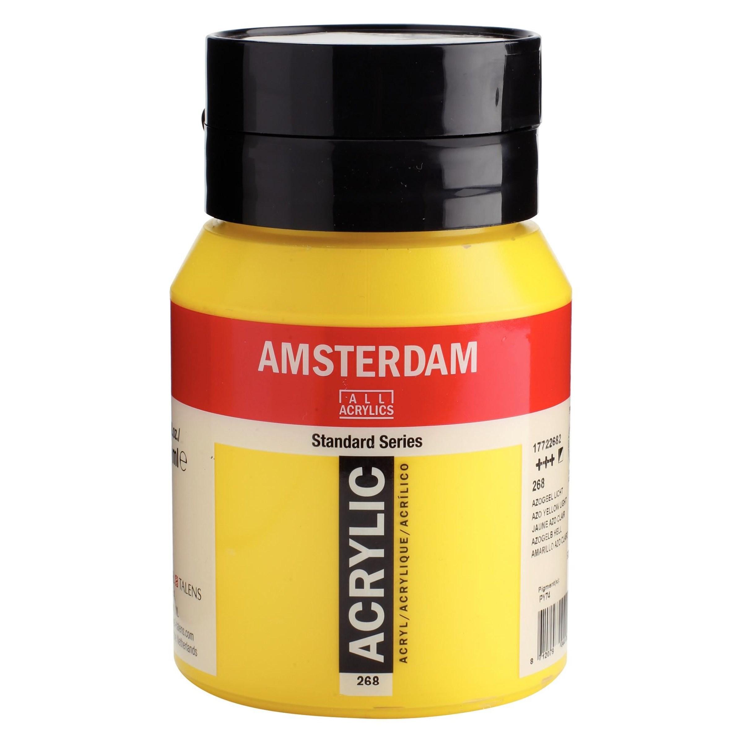 Amsterdam acrylverf Azogeel licht 268