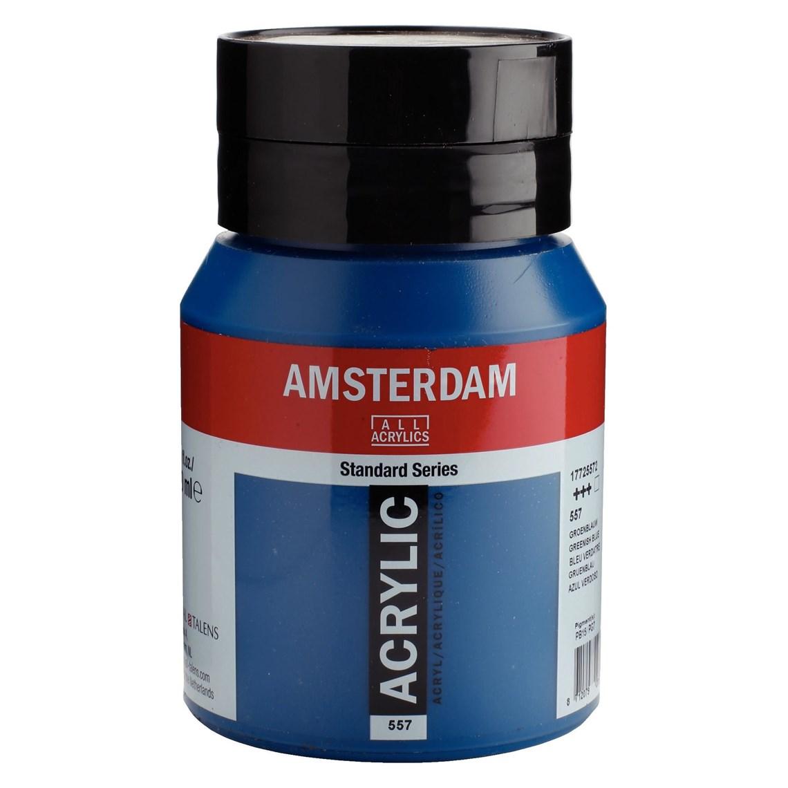 Amsterdam acrylverf Groenblauw 557