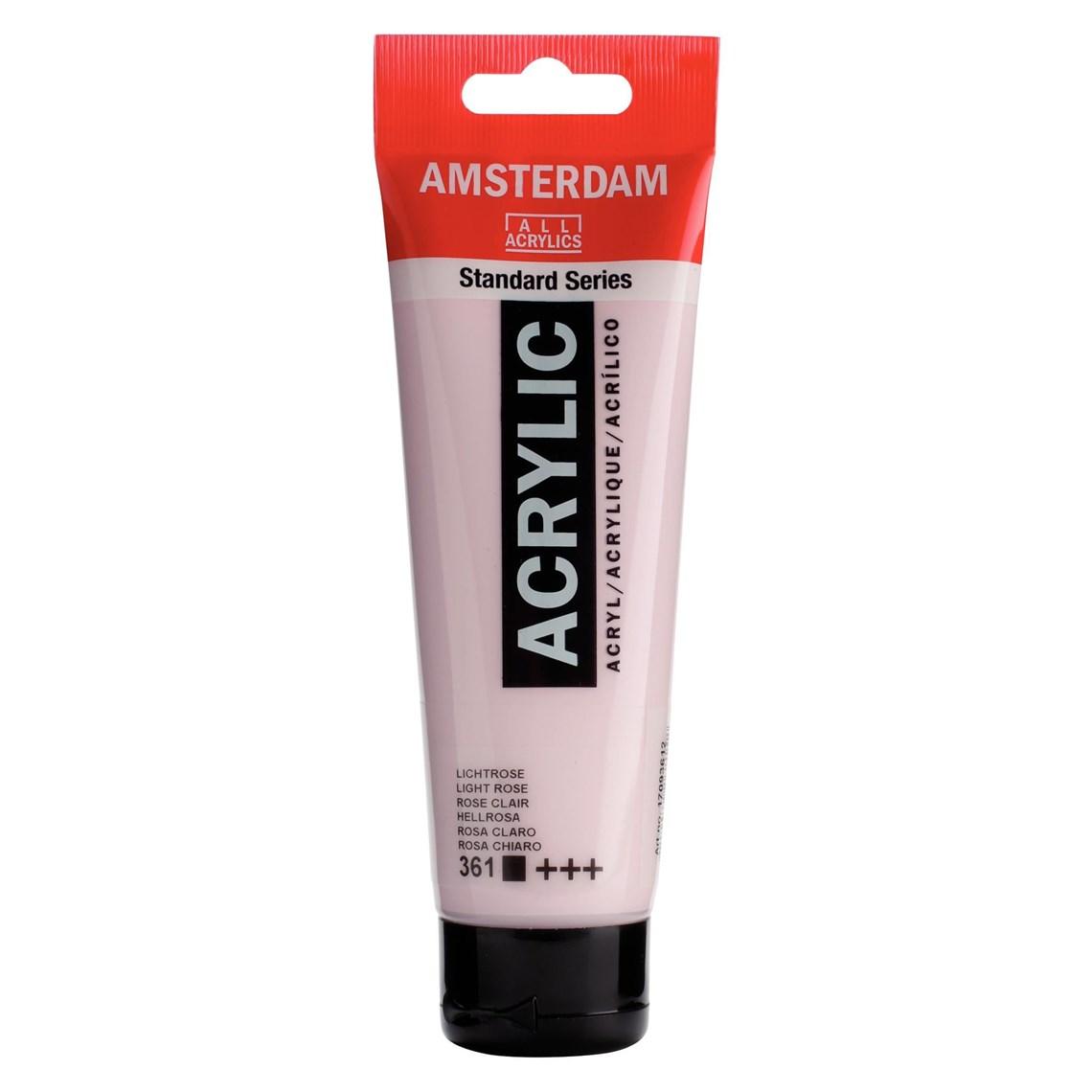 Amsterdam acrylverf Lichtroze 361 Angelart kunst en zo