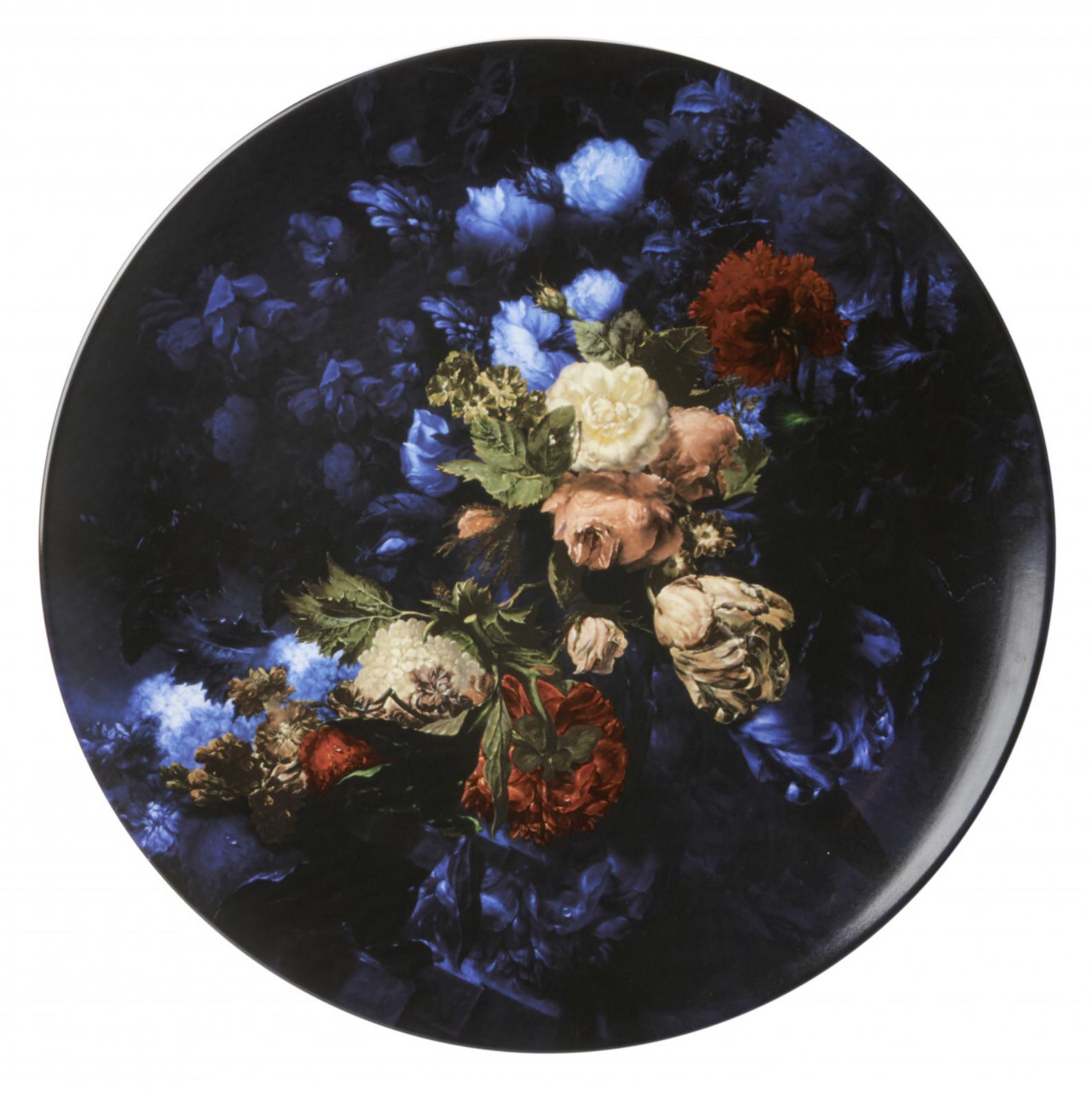 Bord Stilleven met bloemen