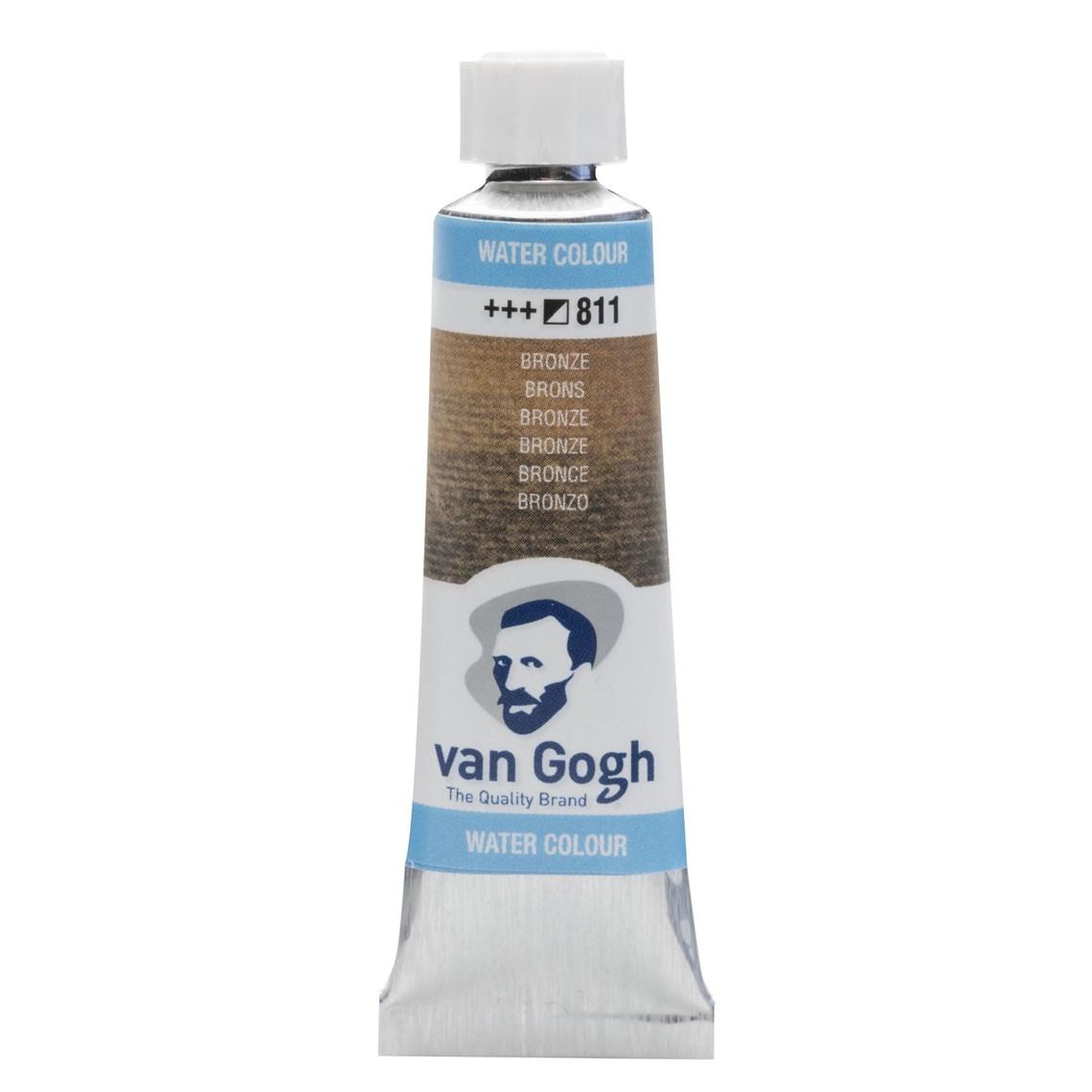 Aquarelverf Brons 811 tube 10 ml. Van Gogh