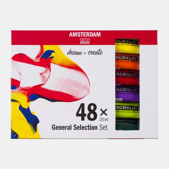 Amsterdam acrylverf Set 48X20 ml