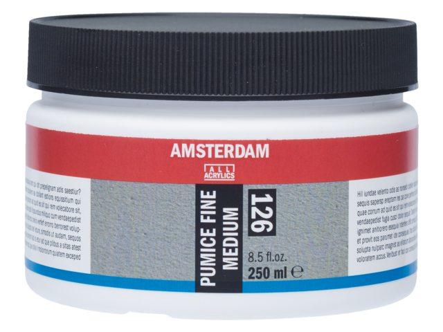 Amsterdam puimsteen medium fijn 250 ml
