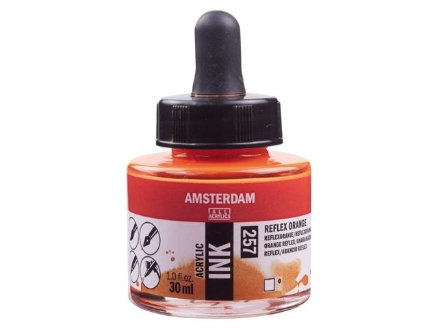 Acryl inkt Reflexoranje 257 - Amsterdam acrylic