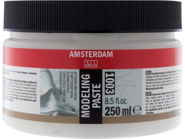 Amsterdam modelleer pasta 250 ml