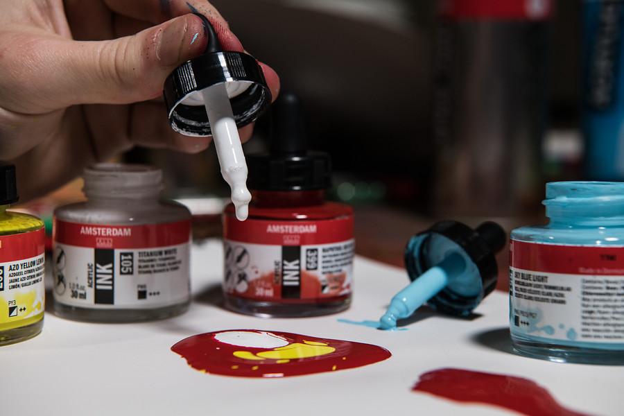 Acryl inkt Amsterdam