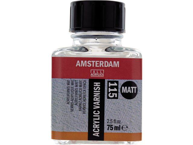 Amsterdam acrylvernis mat 75 ml