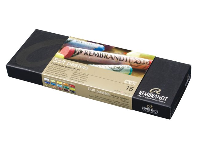 Rembrandt Softpastels starter set 300C15 Angelart Kunst en zo