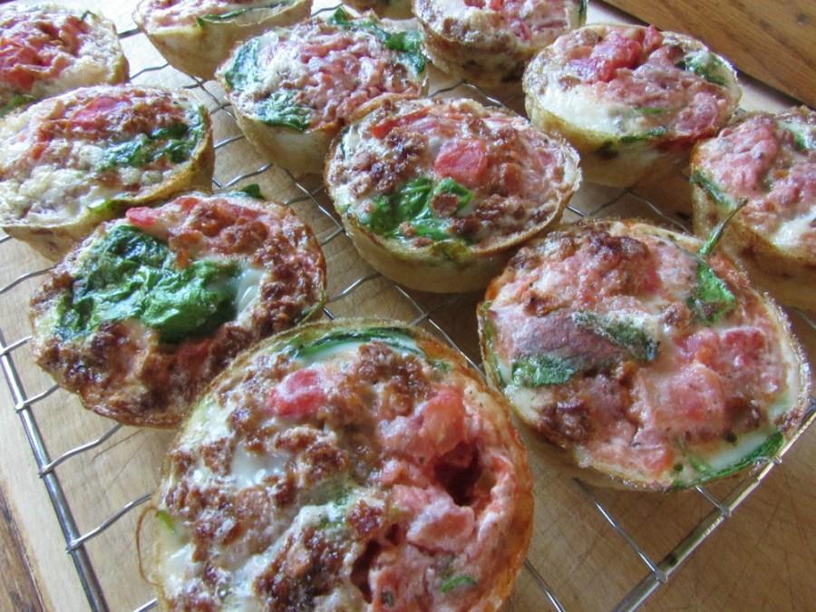 Egg White Frittata Muffins