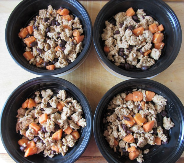 Ground Chicken Sweet Potato Black Bean Skillet