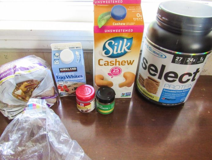 Protein Packed French Toast Ingredients