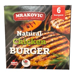 Natural Chicken Burgers