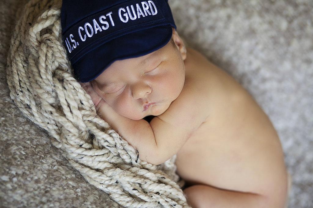 US Coast Guard Newborn Photos
