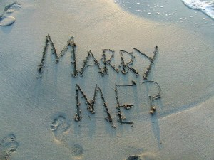 Marry Me in the Sand