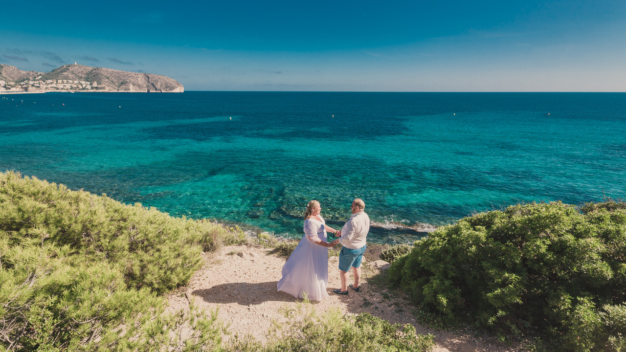 Wedding in Moraira