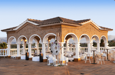 Wedding Roof Terrace Golf Club