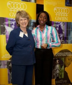 GWIIN 2011 Awards with Roz Morris