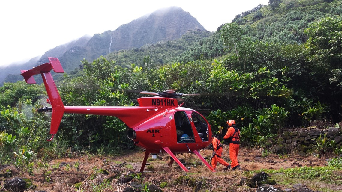 Kalalau Trail rescue