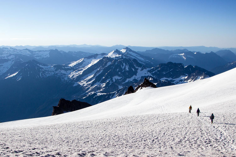 Trip Report Climbing Washington S Glacier Peak Volcano
