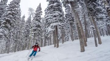 Skiing Utah