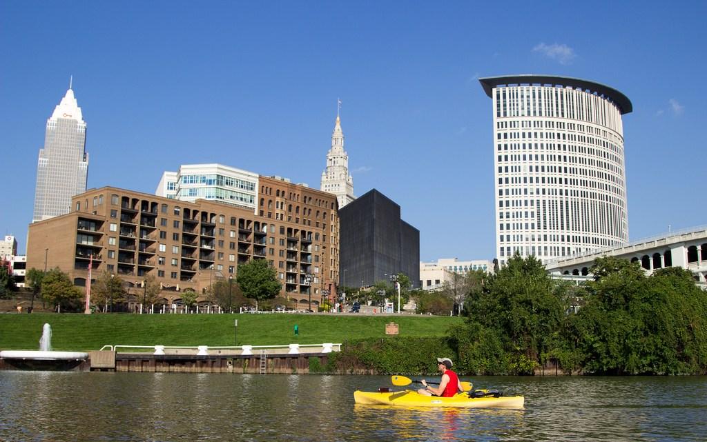 Kayaking Cleveland