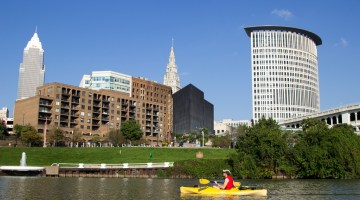 Kayaking Cleveland