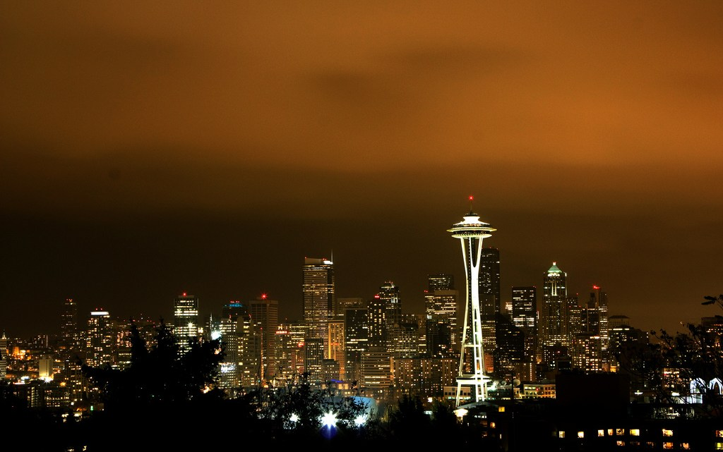 Seattle cityscape from Kerry Park