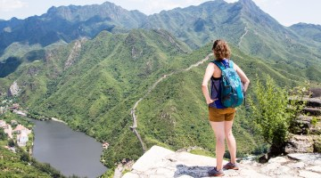 Angela Travels to the Great Wall of China