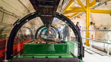 London's Mail Rail at The Postal Museum