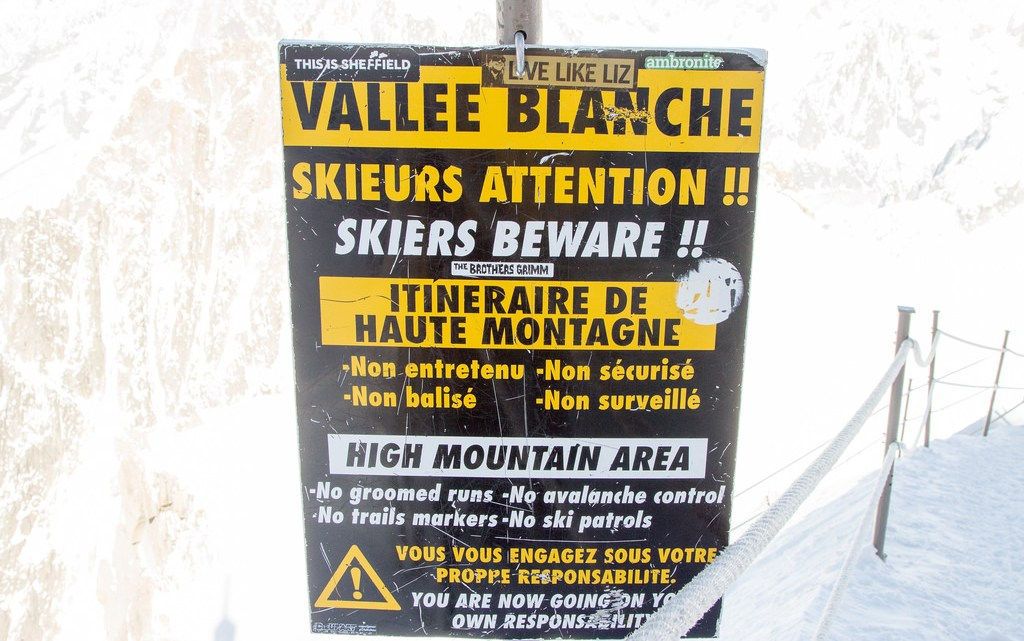 Backcountry Skiing the Vallée Blanche in Chamonix