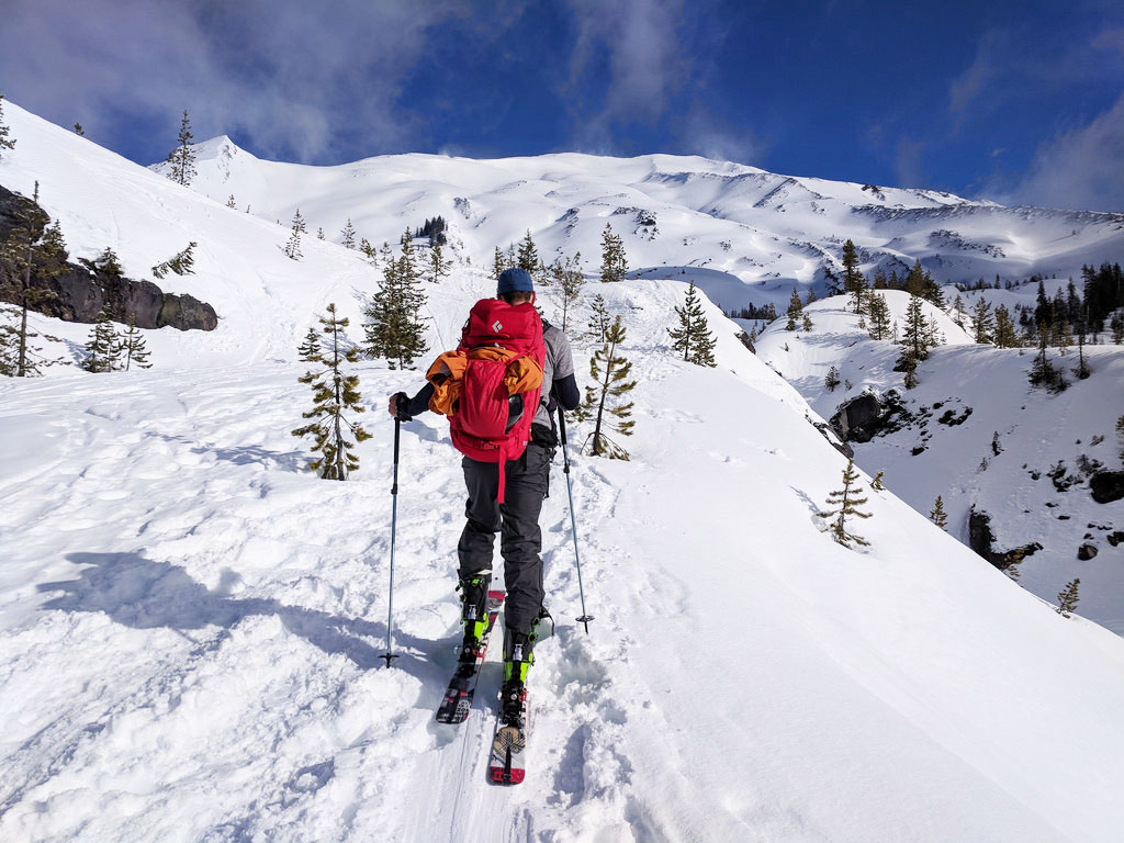 a spring guide to backcountry skiing mount st. helens • angela travels