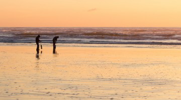 How to Razor Clam in Washington