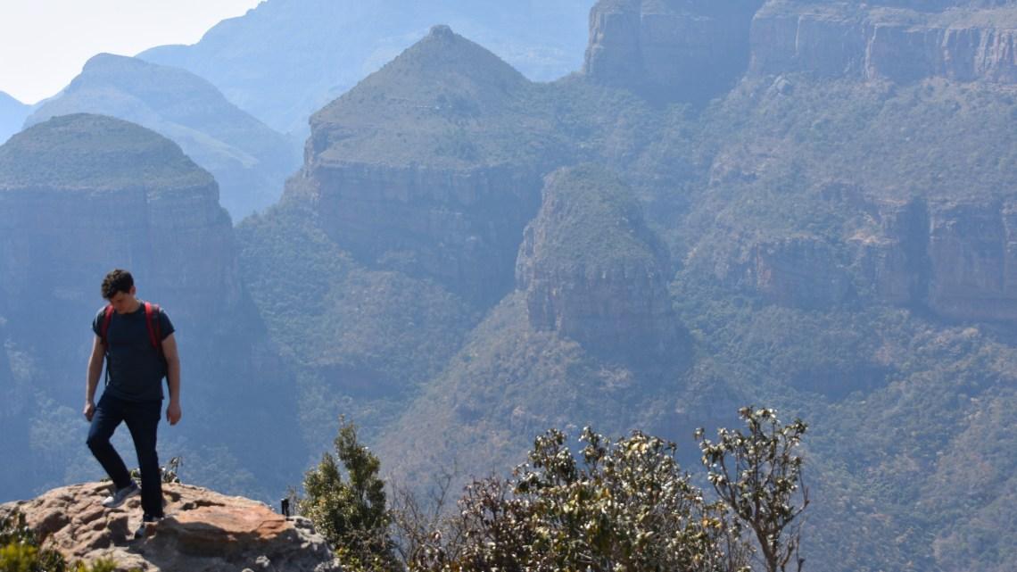 Matthew Kepnes hiking in Africa