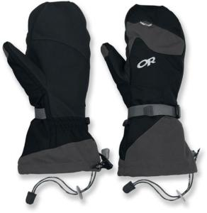 outdoor research ski mittens