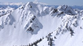 view of the king at crystal mountain resort